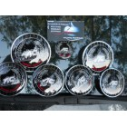 EMBLEMA AC-SCHNITZER DRIVERS COLLECTION LA SET DE 7 BUCATI