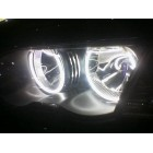 angel eyes neon bmw e46 fara xenon de fabrica